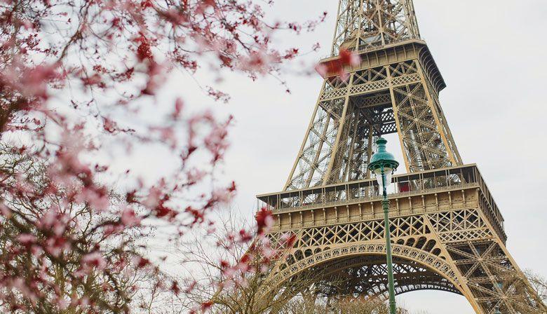 Almoço na Torre Eiffel