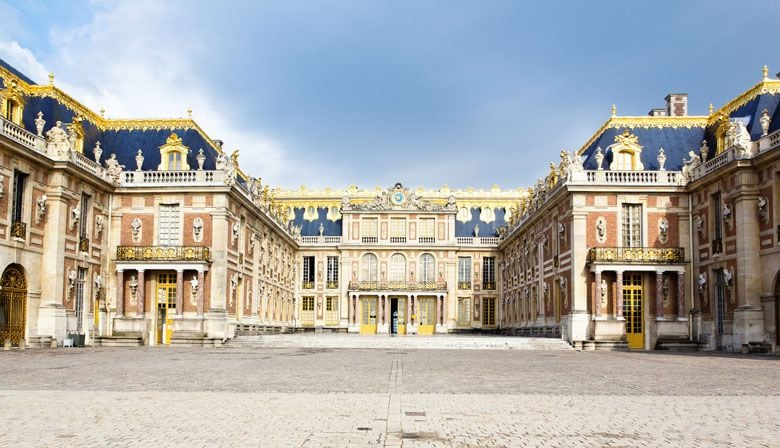 Finish the day at the beautiful Palace of Versailles