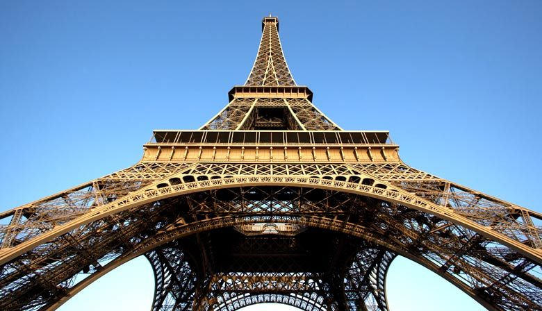 Go up to the top of the Eiffel Tower