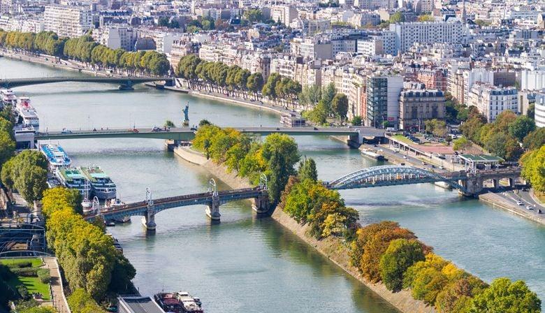Vista sobre o Sena