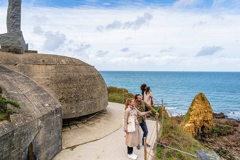 Normandy Landing beaches guided tour