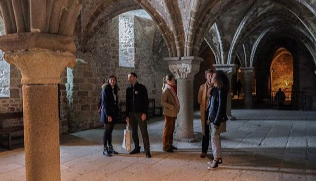 Mont Saint Michel Abbaye Guided Tour