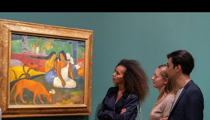 Visita del museo de Orsay en París