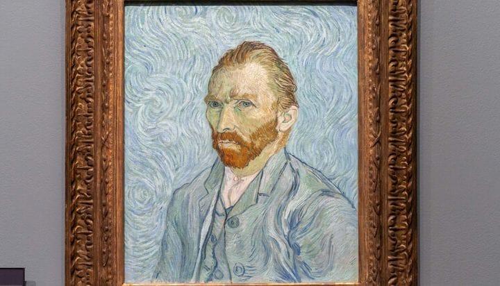 Ver retrato de Van Gogh dentro do musée d'Orsay