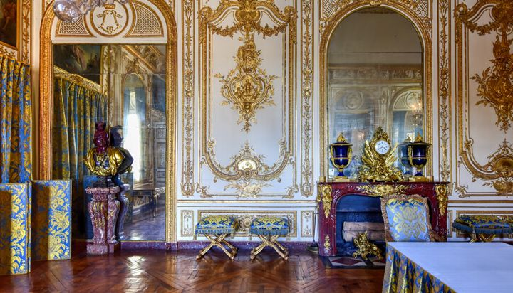 Appartments of the king inside the Palace of Versailles