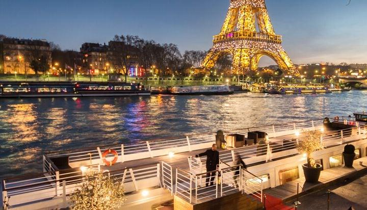 Abend an der Seine