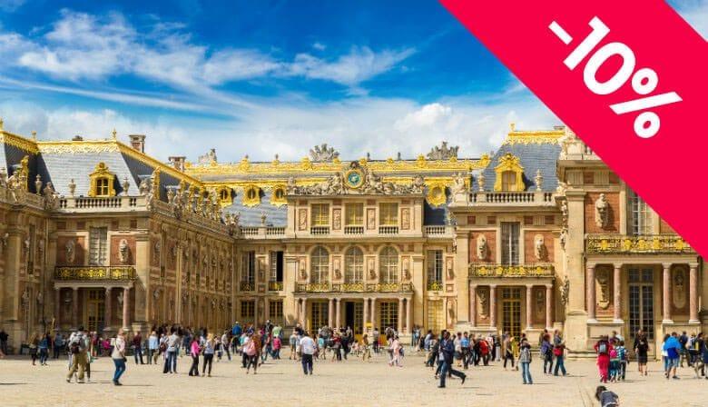 Visita Audio Guiada de meio dia ao Castelo de Versailles com Acesso Prioritário