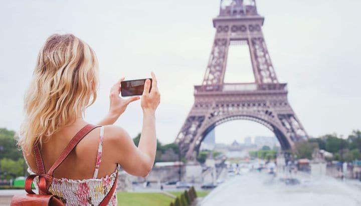Captura los bonitos clichés de la Torre Eiffel
