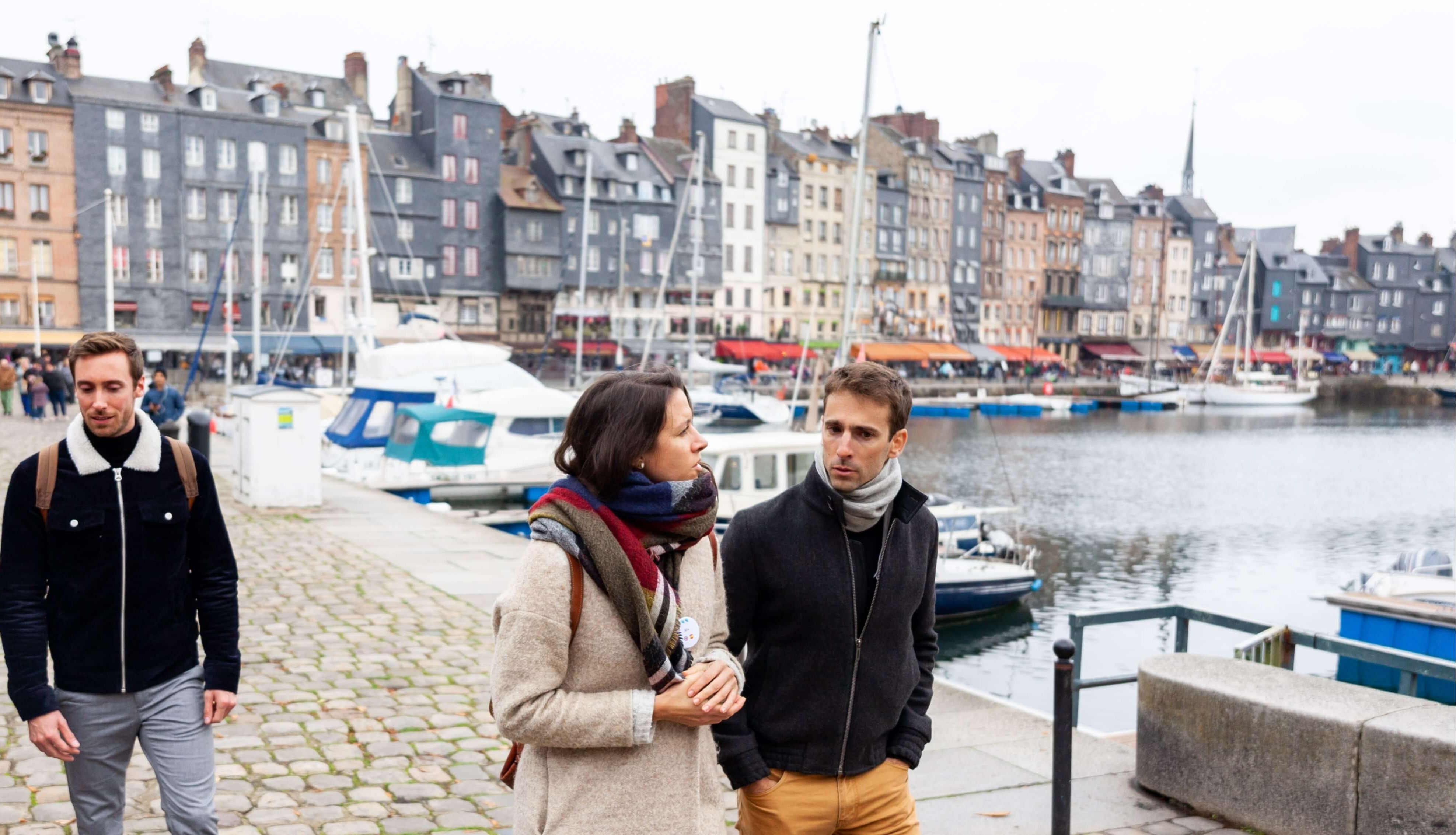 Discover Honfleur and its harbor