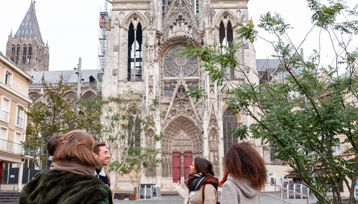 See Notre-Dame de Rouen cathedral