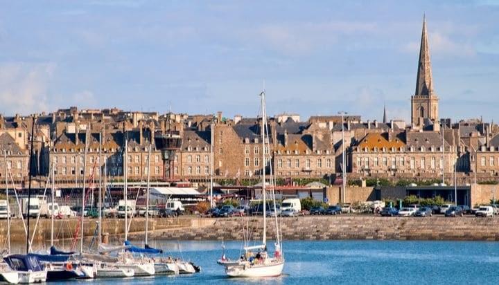 Saint-Malo harbor