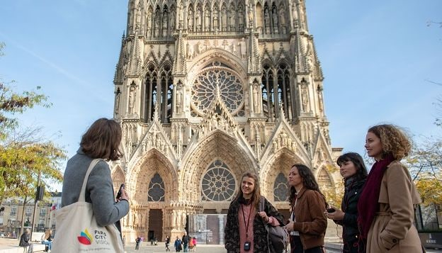 Guided visit of Notre-Dame de Reims cathedral