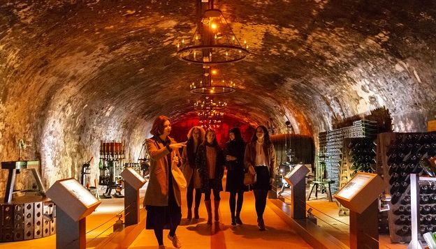 Guided Tour of Mumm House and Local Vineyards from Paris in a Small Group