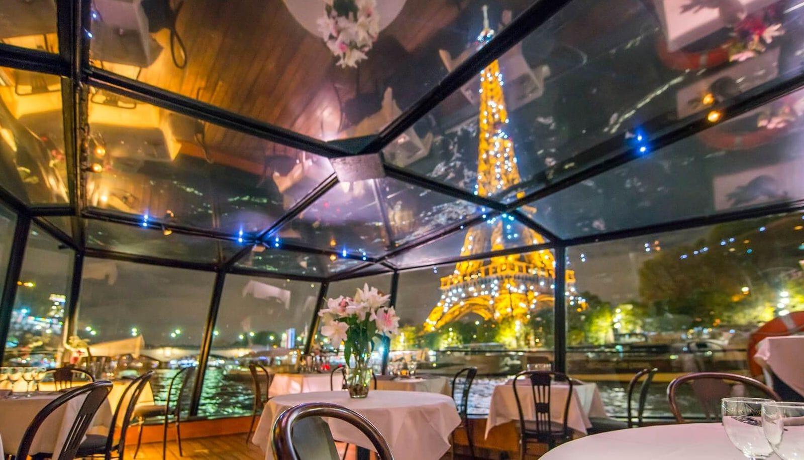 Paris Seine diner croisiere