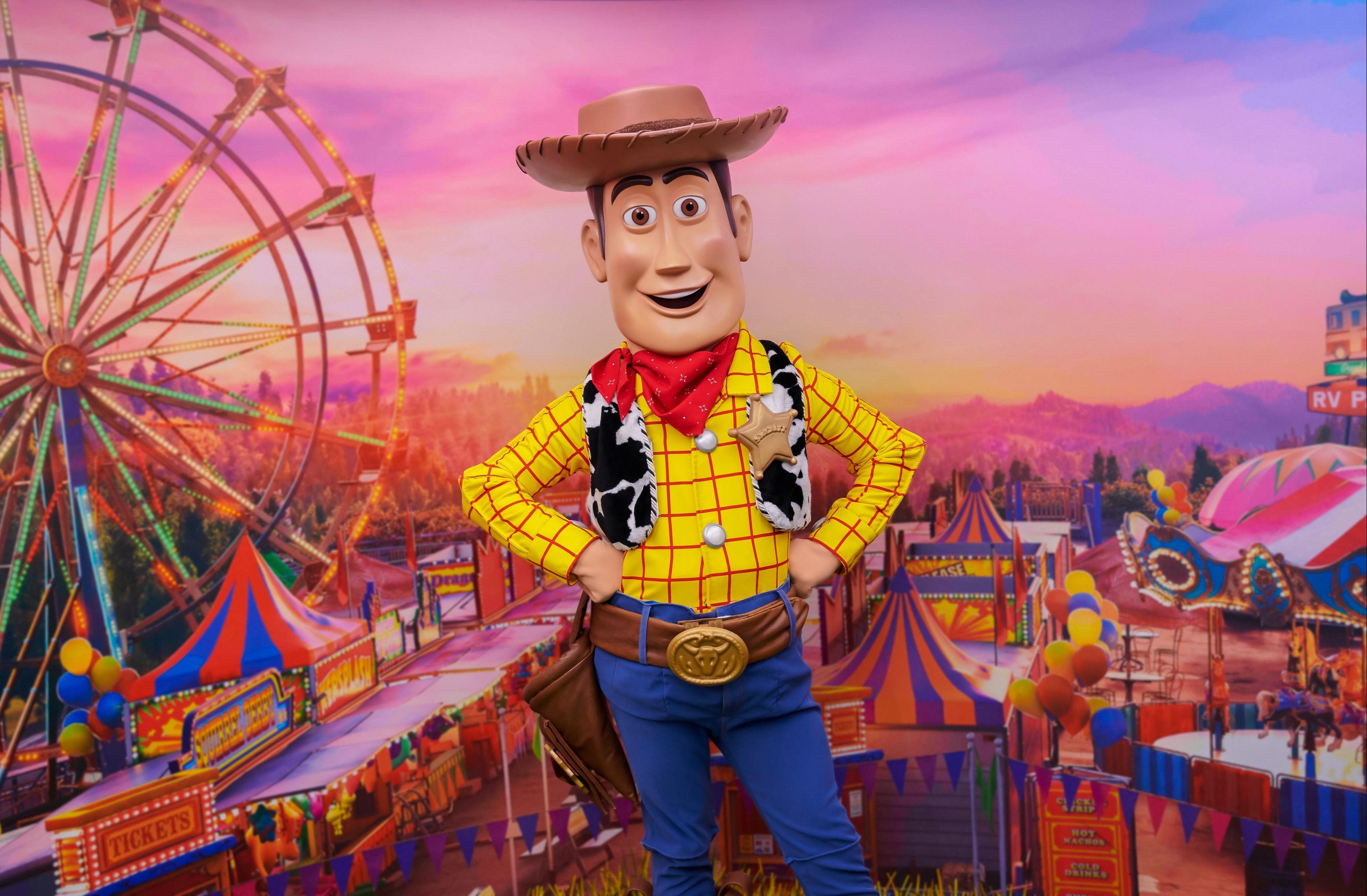 Toy Story in Disneyland Paris