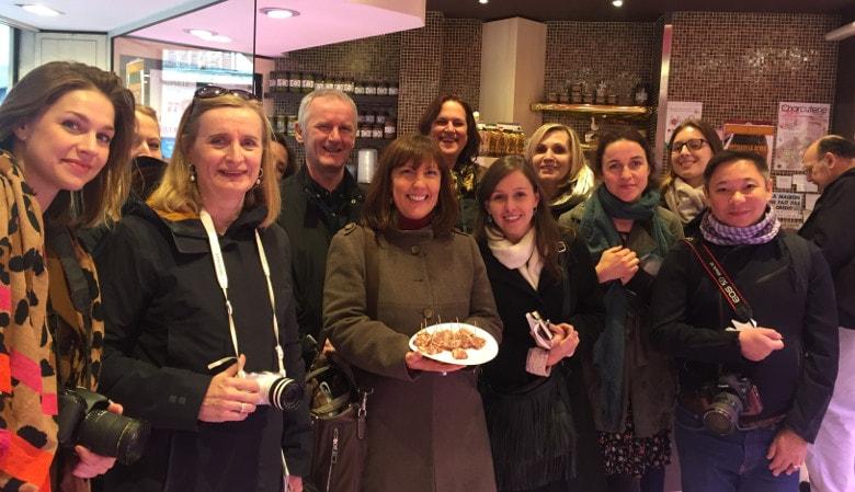"""Tour gourmet en el barrio de Châtelet """" el antiguo mercado central de París"""""""