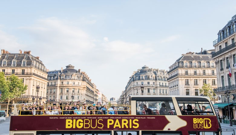 E-Ticket Big Bus Pass to Visit Paris at your own pace