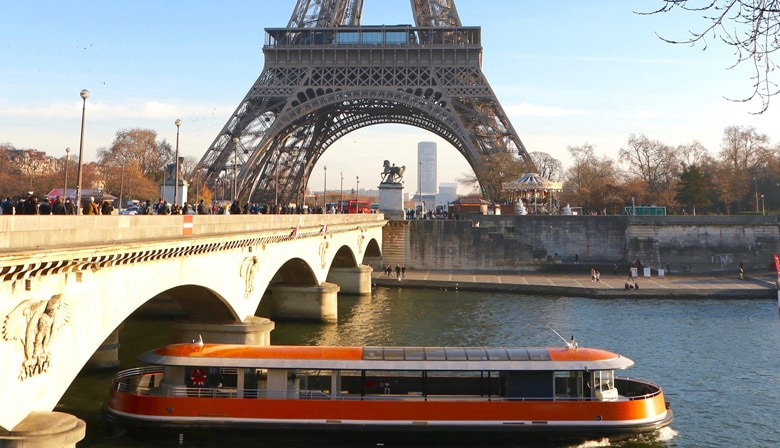 "Seine Cruise aboard the ""Insolite"" boat, from Notre-Dame to the Eiffel Tower (40min)"