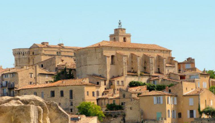 Hilltop Villages In Luberon - from Aix-en-Provence