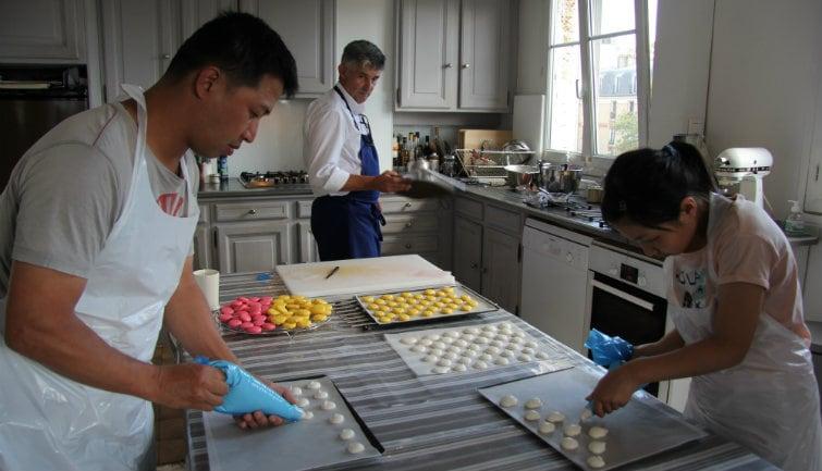Macaron Cooking Class