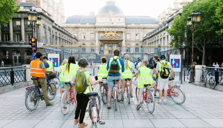Paris Night Bike Tour