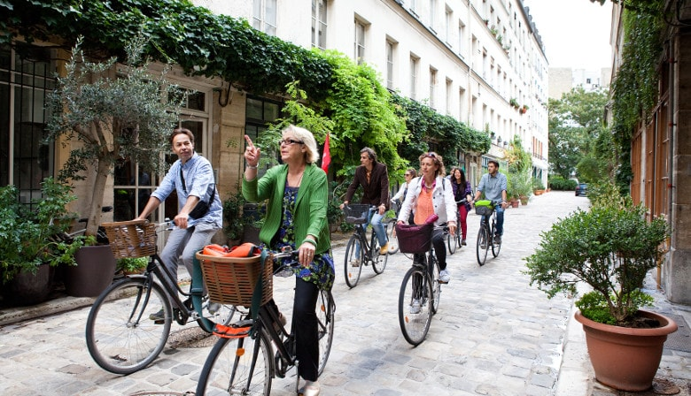 A taste of Paris - City Bike Tour and Food Tasting