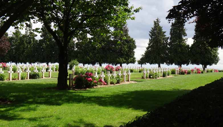 Anzac Day Commemorations on the Somme Battlefields in a small group