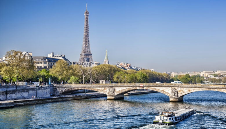 City Tour and Seine River Cruise