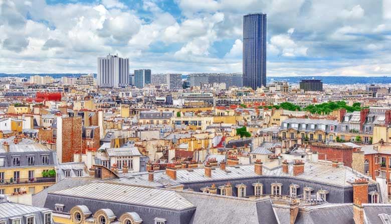 Montparnasse Tower and Paris City Tour ticket