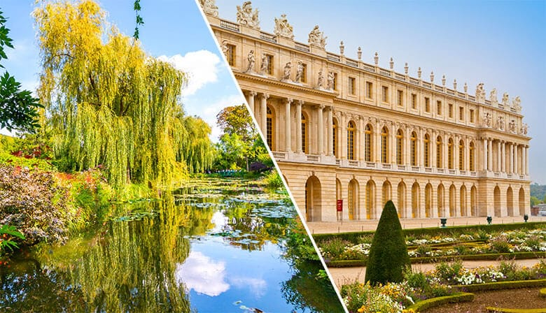 Guided Tour to Giverny Monet's Gardens and Palace of Versailles with Skip-the-Line Access in a Small Group, Lunch included