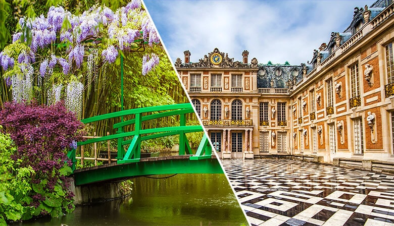 Guided tour to Giverny Monet's Gardens and Palace of Versailles with Skip-the-Line Access, Lunch included