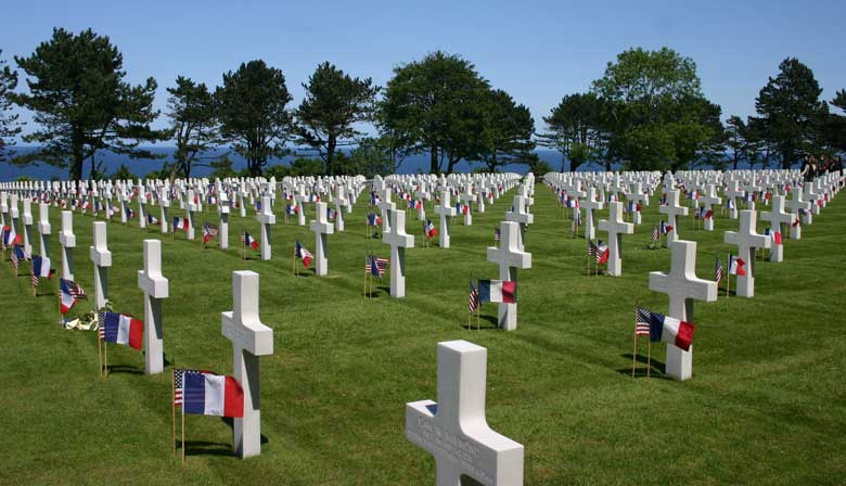 Guided tours of the Landing Beaches - Lunch on your own - Leaving from Paris