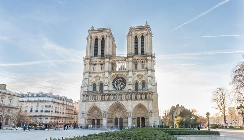 Visit Notre-Dame Cathedral, Montmartre, Skip-the-line Eiffel Tower Access + Top Floor in a Small Group