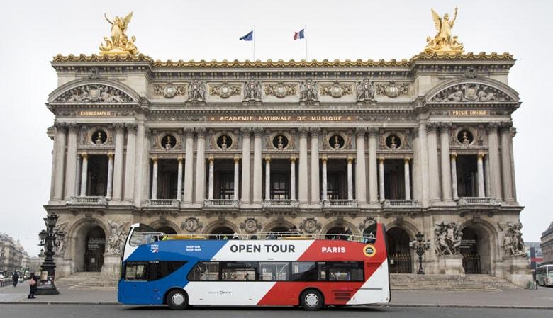 Paris 1 Day Hop on Hop off Pass - E-ticket