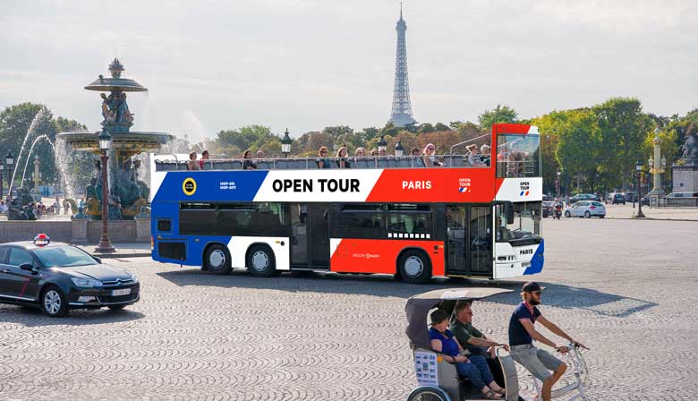 Louvre museum tour with Audioguide and Skip-the-line ticket + Open Tour Paris 1 day