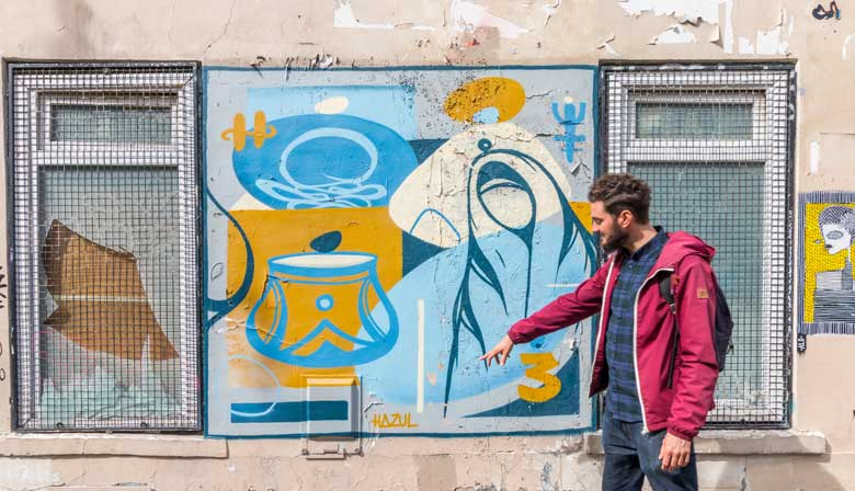 Street Art Walking Tour in Paris with an Expert Guide